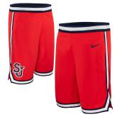 NIKE Replica Red Rio Basketball Shorts-