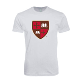 Next Level SoftStyle White T Shirt-Official Shield