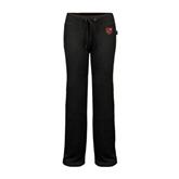 ENZA Ladies Black Fleece Pant-Official Shield