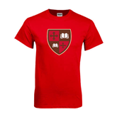Red T Shirt-Official Shield