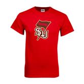 Red T Shirt-SLU Flag