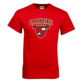 Red T Shirt-Hockey