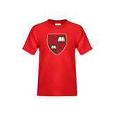 Youth Red T Shirt-Official Shield