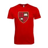 SoftStyle Red T Shirt-Official Shield