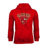 Red Fleece Hoodie-Official Logo