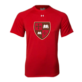Under Armour Red Tech Tee-Official Shield