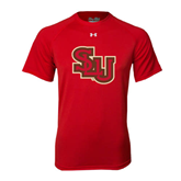 Under Armour Red Tech Tee-SLU