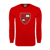 Red Long Sleeve T Shirt-Official Shield