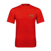 Performance Red Tee-Official Logo