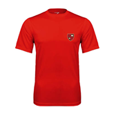 Performance Red Tee-Official Shield