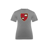 Youth Syntrel Performance Steel Training Tee-Official Shield