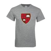 Grey T Shirt-Official Shield