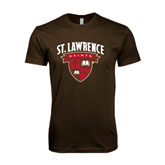 Next Level SoftStyle Brown T Shirt-Official Logo