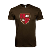 Next Level SoftStyle Brown T Shirt-Official Shield