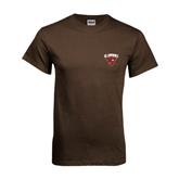 Brown T Shirt-Official Logo