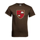 Brown T Shirt-Official Shield