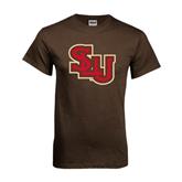 Brown T Shirt-SLU