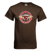 Brown T Shirt-Back to back Riding Champions 2012-2013
