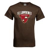 Brown T Shirt-Hockey