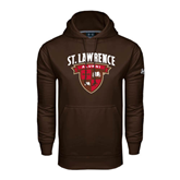 Under Armour Brown Performance Sweats Team Hoodie-Alumni