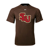 Under Armour Brown Tech Tee-SLU
