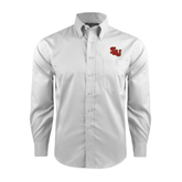 Red House White Long Sleeve Shirt-SLU