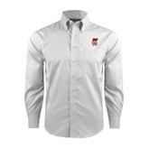 Red House White Long Sleeve Shirt-SLU Flag