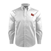 Red House White Dobby Long Sleeve Shirt-SLU