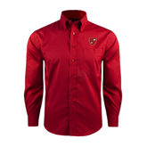 Red House Red Long Sleeve Shirt-Official Shield