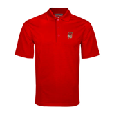Red Mini Stripe Polo-SLU Flag