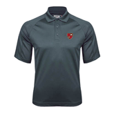 Charcoal Dri Mesh Pro Polo-Official Shield