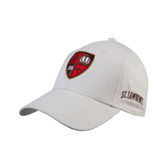 White Heavyweight Twill Pro Style Hat-Official Shield