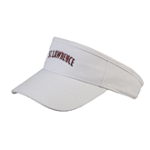 White Brushed Bull Denim Visor-Arched St. Lawrence