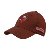 Brown Heavyweight Twill Pro Style Hat-Official Shield