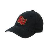 Black OttoFlex Unstructured Low Profile Hat-SLU