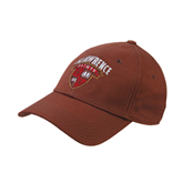 Brown Twill Unstructured Low Profile Hat-Official Logo