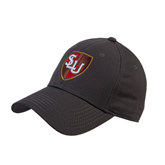 Charcoal Heavyweight Twill Pro Style Hat-SLU Shield