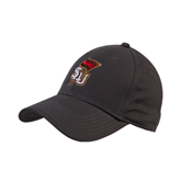 Charcoal Heavyweight Twill Pro Style Hat-SLU Flag
