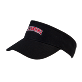 Black Brushed Bull Denim Visor-Arched St. Lawrence