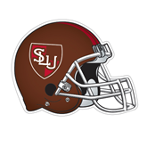 Football Helmet Magnet-SLU Shield, 12 inches wide