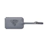 Fabrizio Grey Luggage Tag-Saints Shield Engraved