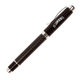 Luna Black Rollerball Pen-Arched St. Lawrence Engraved