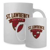 Full Color White Mug 15oz-Saints Shield