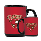 Full Color Black Mug 15oz-Saints Shield