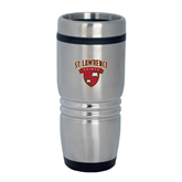 Rolling Ridges Silver Stainless Tumbler 16oz-Saints Shield