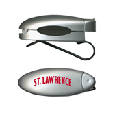Silver Bullet Clip Sunglass Holder-Arched St. Lawrence
