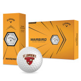 Callaway Warbird Golf Balls 12/pkg-Saints Shield