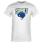 White T Shirt-StMU with Rattler