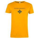 Ladies Gold T Shirt-St. Marys University