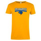 Ladies Gold T Shirt-Campus Recreation
